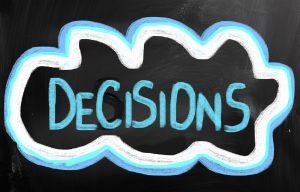Decisions Concept